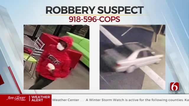 Broken Arrow Police Investigate 2 Robberies, Search For Suspect