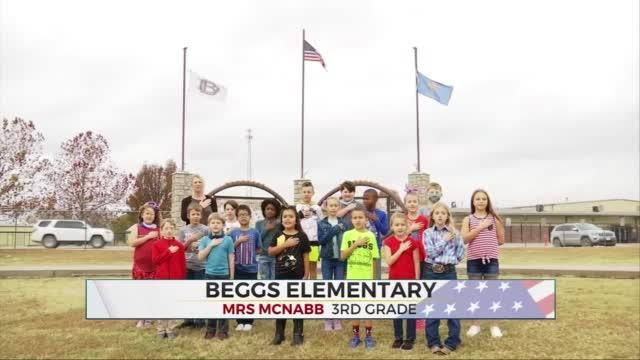 Daily Pledge: Mrs. McNabb's 3rd Grade Class