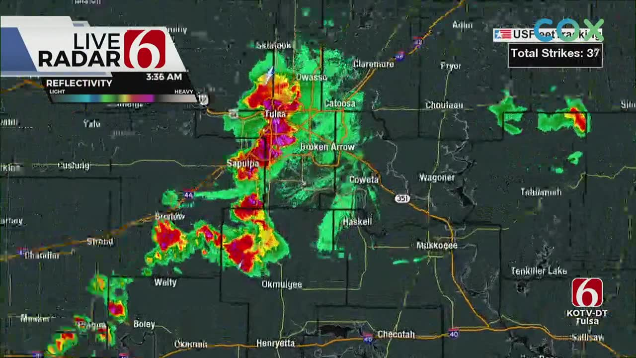 Severe Weather Update With Alan Crone 3:37 a.m.