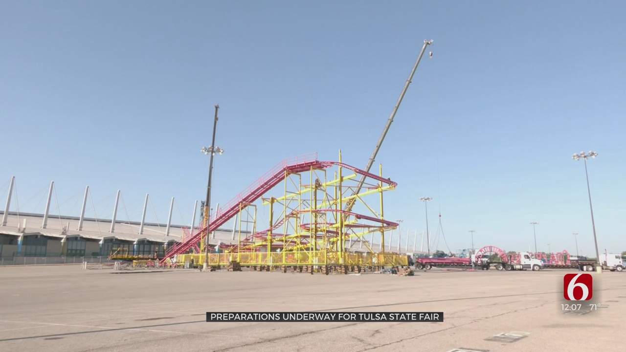 Preparations Underway For The Tulsa State Fair
