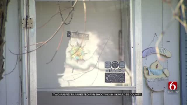 Deputies Arrest 2 Suspects In Okmulgee County Shooting