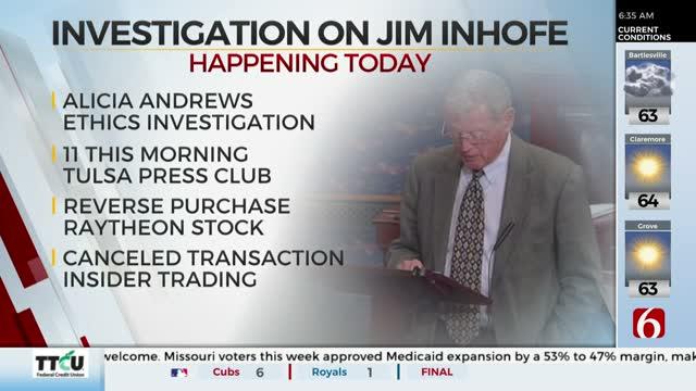 Oklahoma Democratic Party Calls For Investigation Of Senator Inhofe