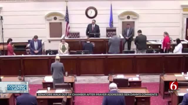 'Still Misogynistic': Chaplin's Message On Senator's Sexual Innuendo Sparks Lawmaker Walkout