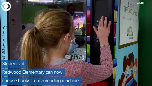 Watch: Michigan Elementary School Installs Book Vending Machines