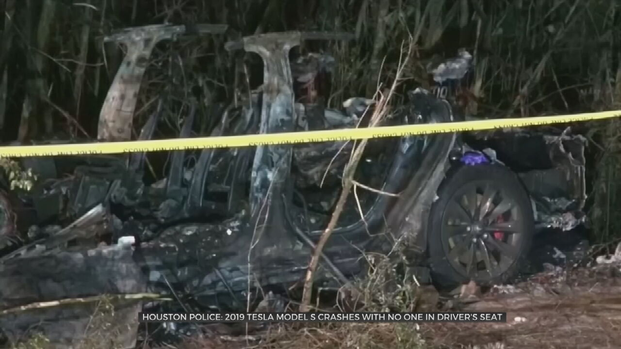 Authorities Say No One Was Driving Tesla Before Deadly Crash