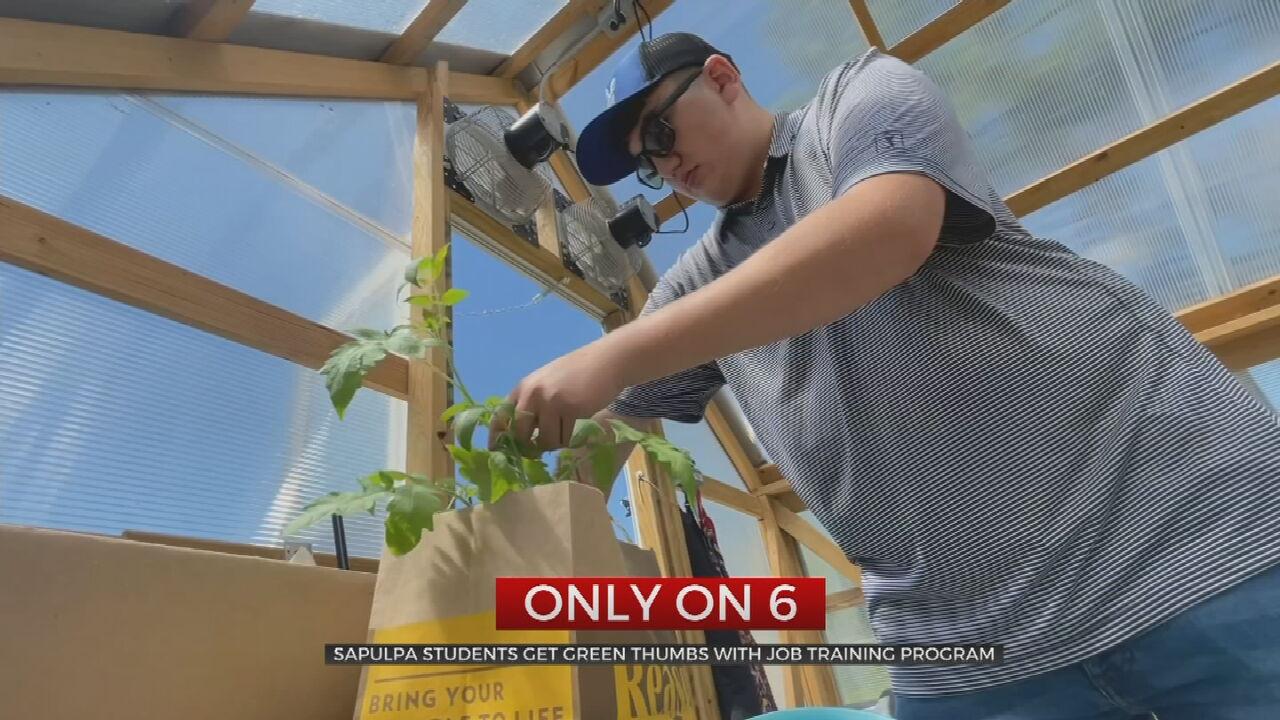 Sapulpa High School Students Learning Life Skills Through Special Program