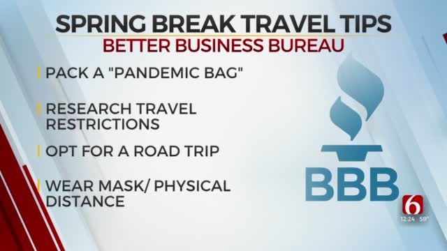Watch: Spring Break Travel Tips