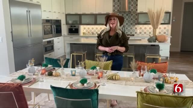 Watch: Tips For Setting Up Your Thanksgiving Table