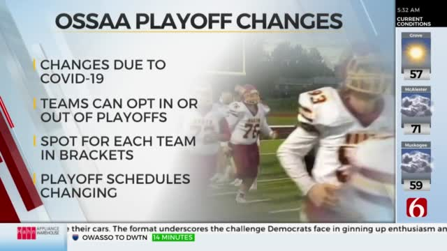 OSSAA Makes Changes To Playoff Requirements, All Teams Face Change Of Eligibility
