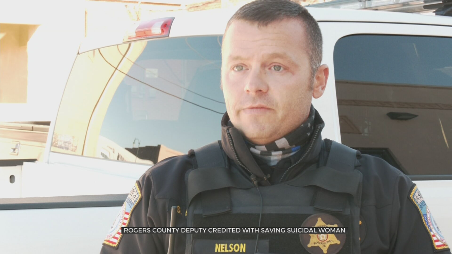 Rogers County Deputy Credited With Saving Suicidal Woman