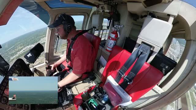 WATCH: Osage SkyNews 6 HD Pilot Dustin Stone Capture F-16 Flyover On Camera