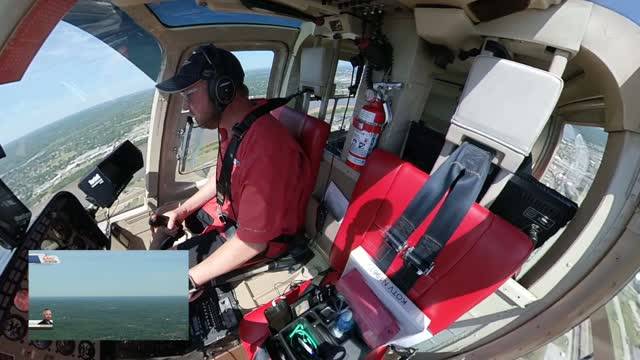 WATCH: Osage SkyNews 6 HD Pilot Dustin Stone Capture F-16 Flyover On Camera