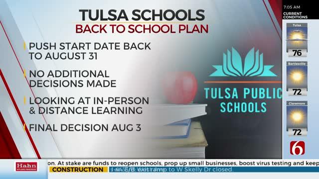 OKC Public Schools Will Go Virtual, Tulsa Public Schools Still Undecided