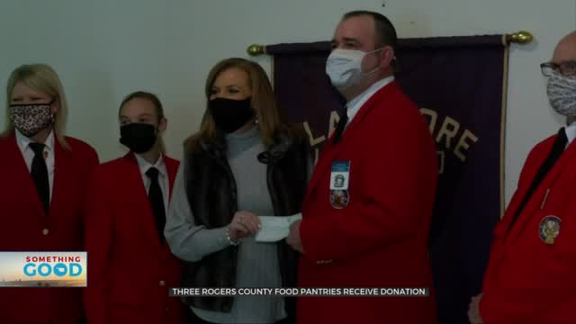 Local Organization Donates Thousands Of Dollars To Rogers County Food Pantries