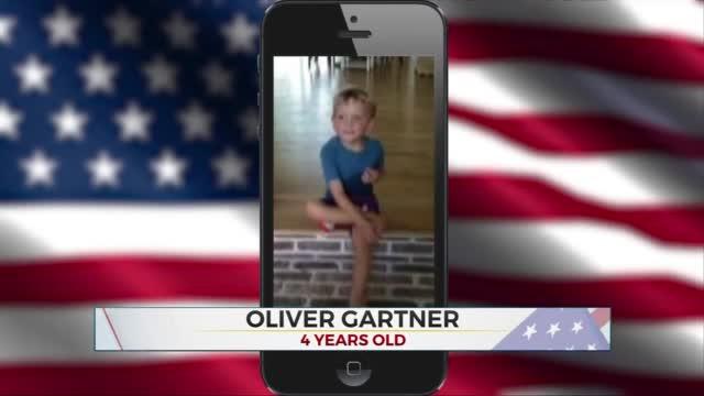 Daily Pledge: 4-Year-Old Oliver Gartner