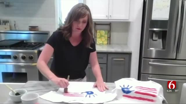 WATCH: Learn How To Make Festive 4th Of July T-Shirts