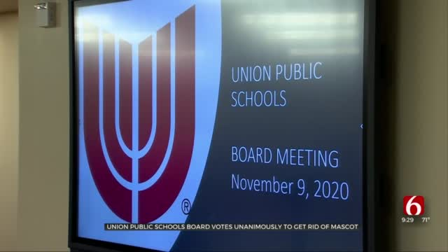 Union School Board Votes Unanimously To Discontinue Use Of 'Redskins' Mascot