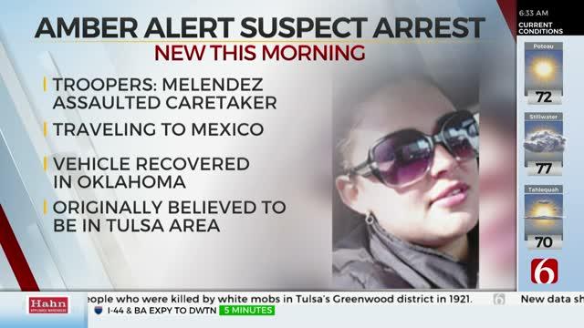 Amber Alert Suspect Arrested In Oklahoma, Missouri Highway Patrol Says