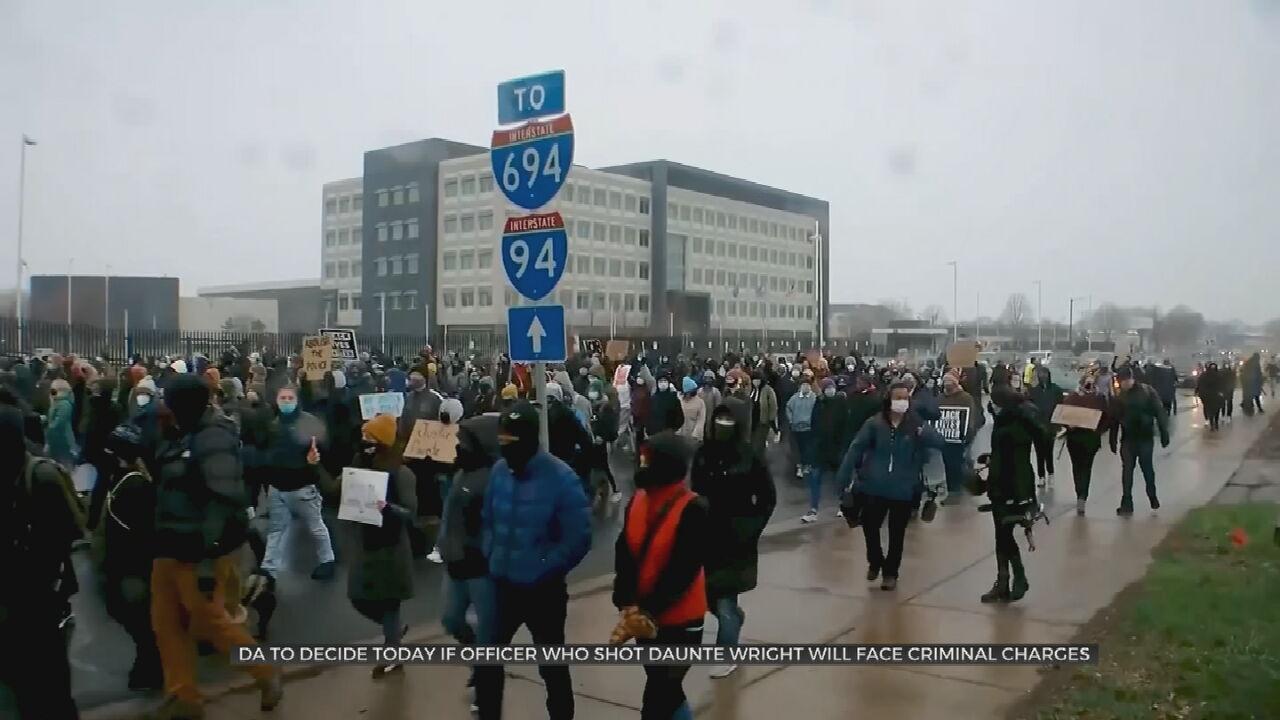 Minnesota Shooting Charging Decision Awaited, Protests Go On