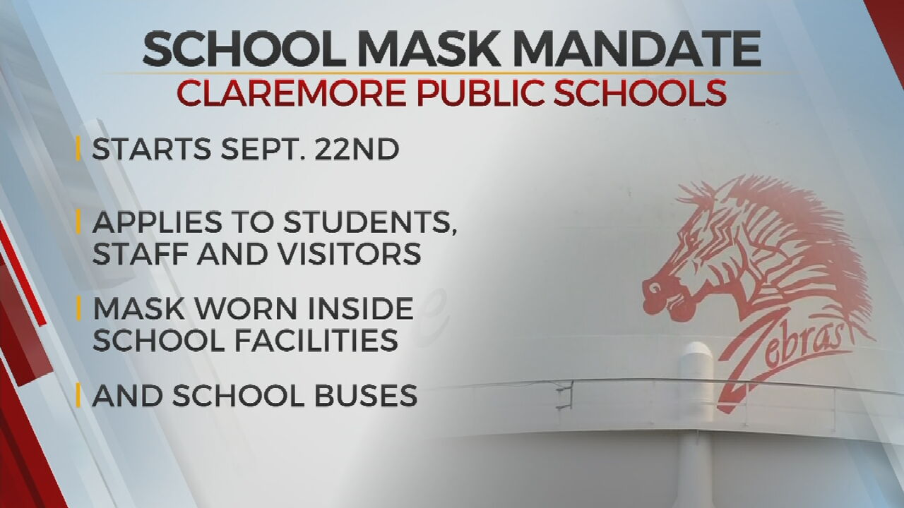 Claremore Public Schools Approves Districtwide Mask Requirement