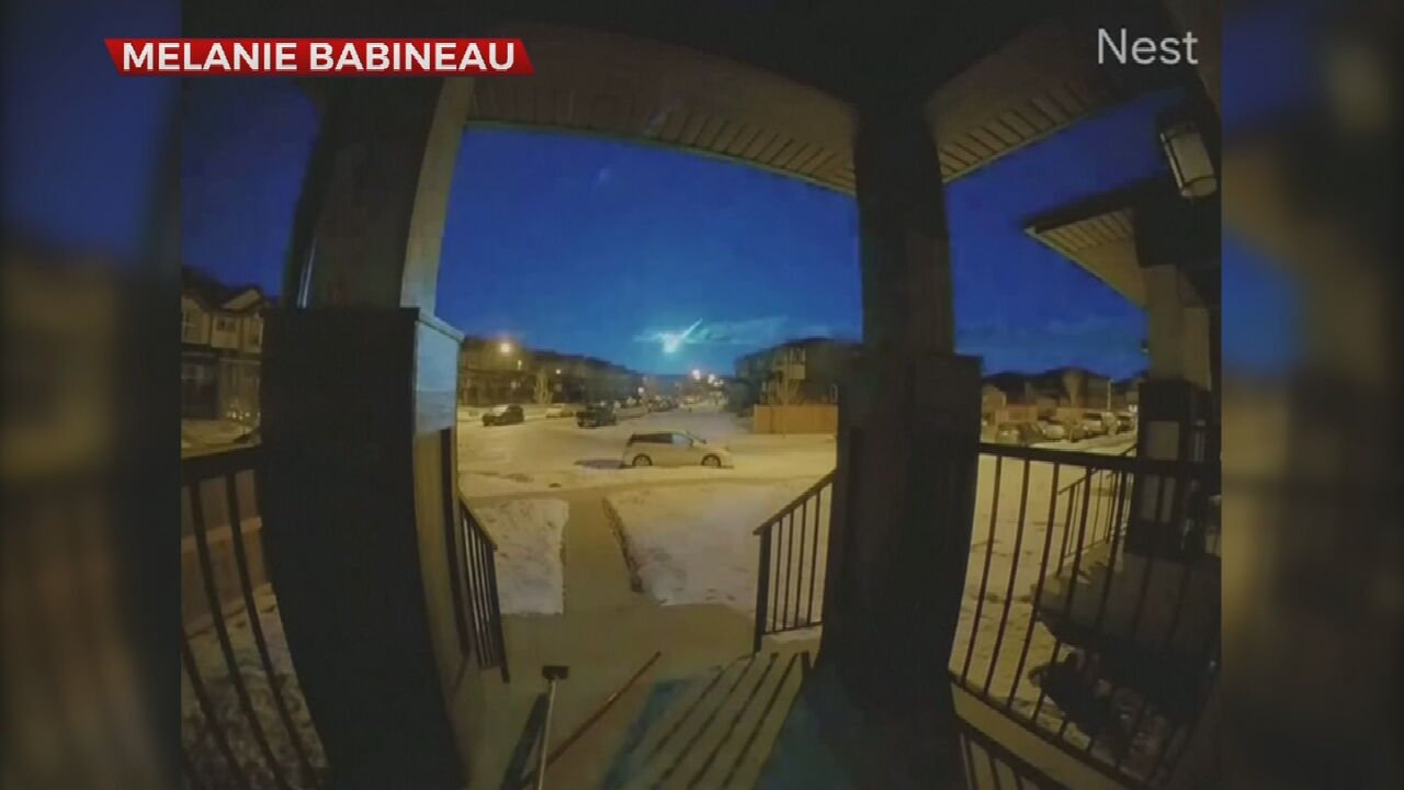 Watch: Bright Meteor Spotted Over Alberta, Canada