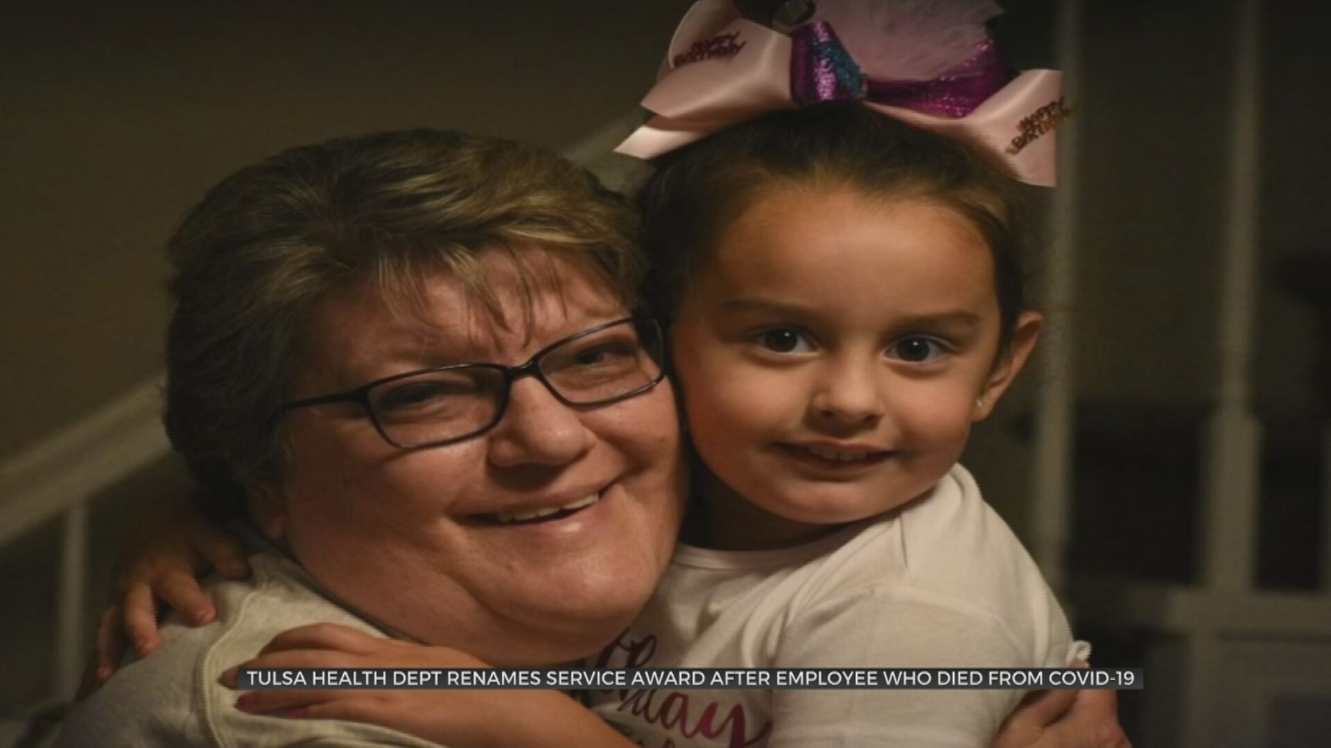 Tulsa Health Department Renames Service Award In Honor Of Late Employee