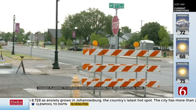 City Plans For Expanded Parking in Downtown Owasso