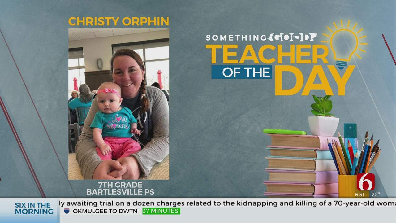 Teacher Of The Day: Christy Orphin