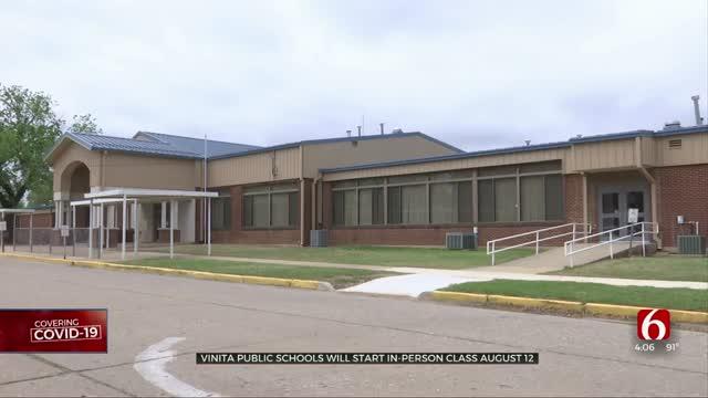 Vinita Public Schools Announce Fall Start Date, Protocol Plans To Follow