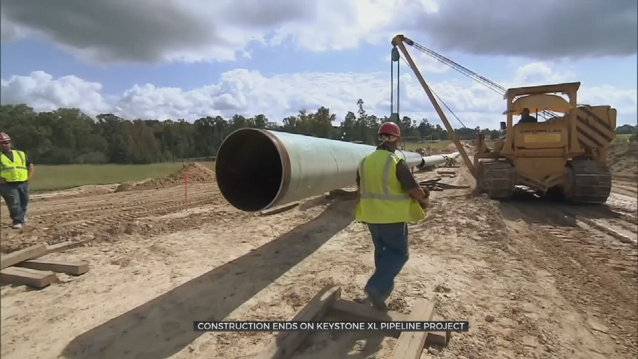 Work On Keystone XL Pipeline Suspended As Biden Is Expected To Revoke Permit