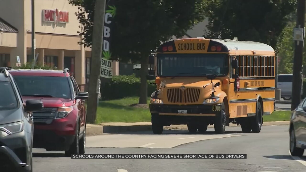 More Than Half Of Schools Across The Country Report 'Severe' Bus Driver Shortage