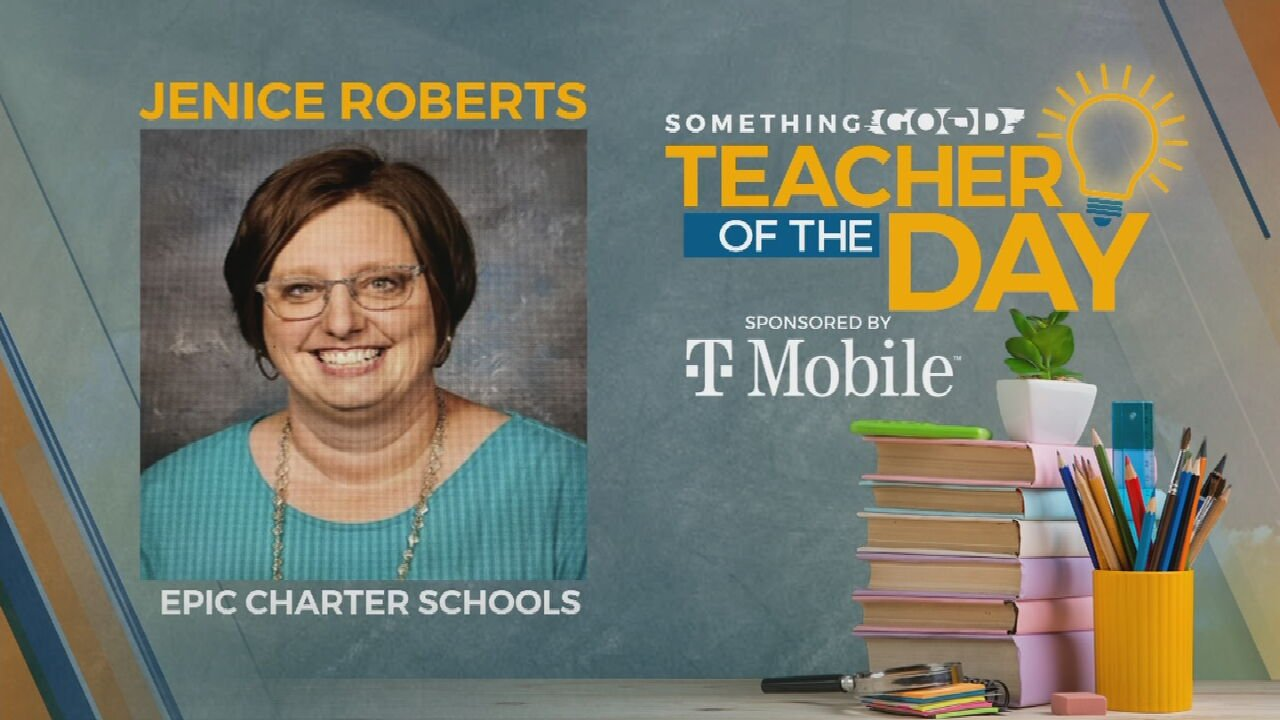 Teacher Of The Day: Jenice Roberts