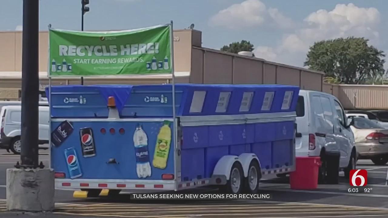Tulsans Finding Alternative Recycling Methods
