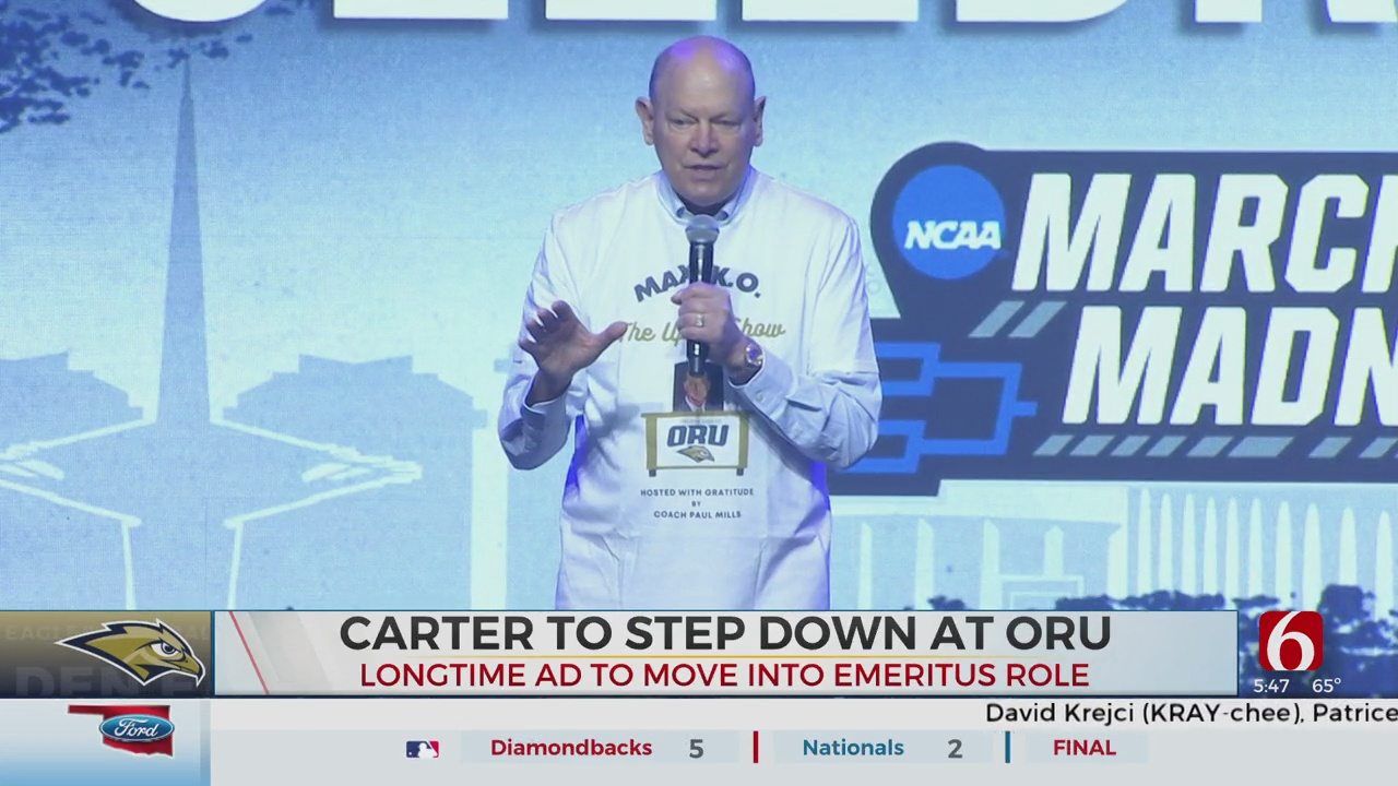 Longtime Oral Roberts AD Mike Carter To Step Down