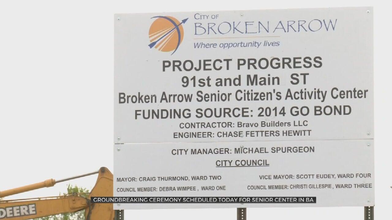 City Leaders To Attend Groundbreaking For New Broken Arrow Senior Center