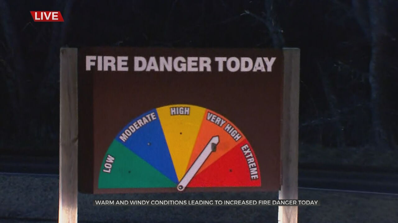 National Weather Service Issues Red Flag Warning For Several Green Country Counties