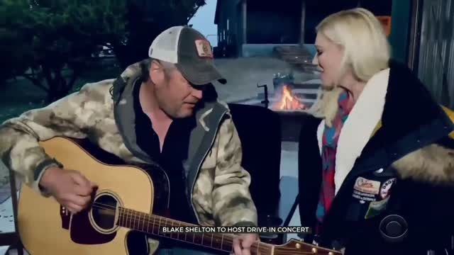 Oklahoma Drive-Ins To Show Prerecorded Blake Shelton Concerts