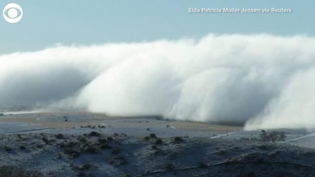 Watch: Cloud Formation Rolls Through Argentina