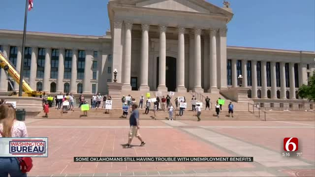 Some Oklahomans Still Having Issues With Unemployment Benefits