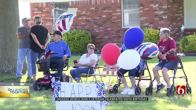 WWII Veteran Celebrates 100th Birthday With Parade