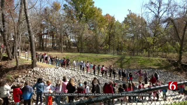 New Trail Connecting 2 Jenks Schools To Serve As History Lesson