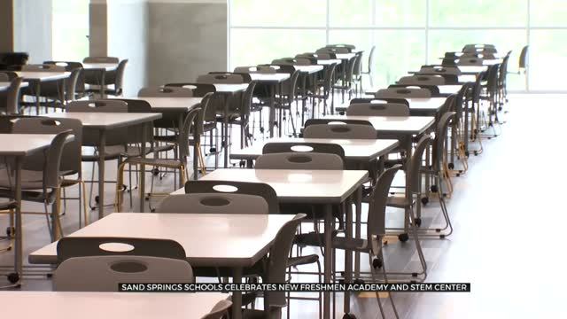 Sand Springs Schools Celebrate New Freshmen Academy, STEM Center