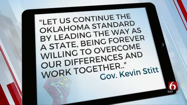 Governor Stitt Issues Statement Regarding Juneteenth Holiday