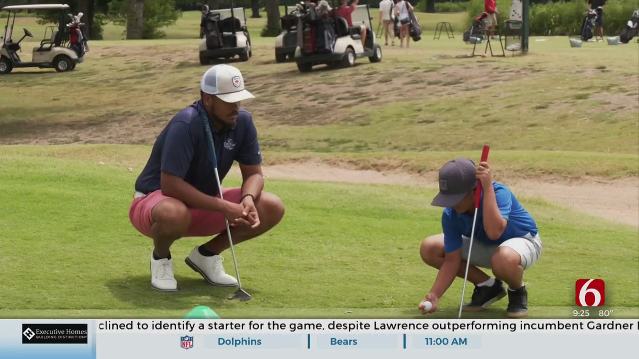 First Tee Of Tulsa Helped Tommy Riddle III Achieve His Goal Of Becoming Pro Golfer