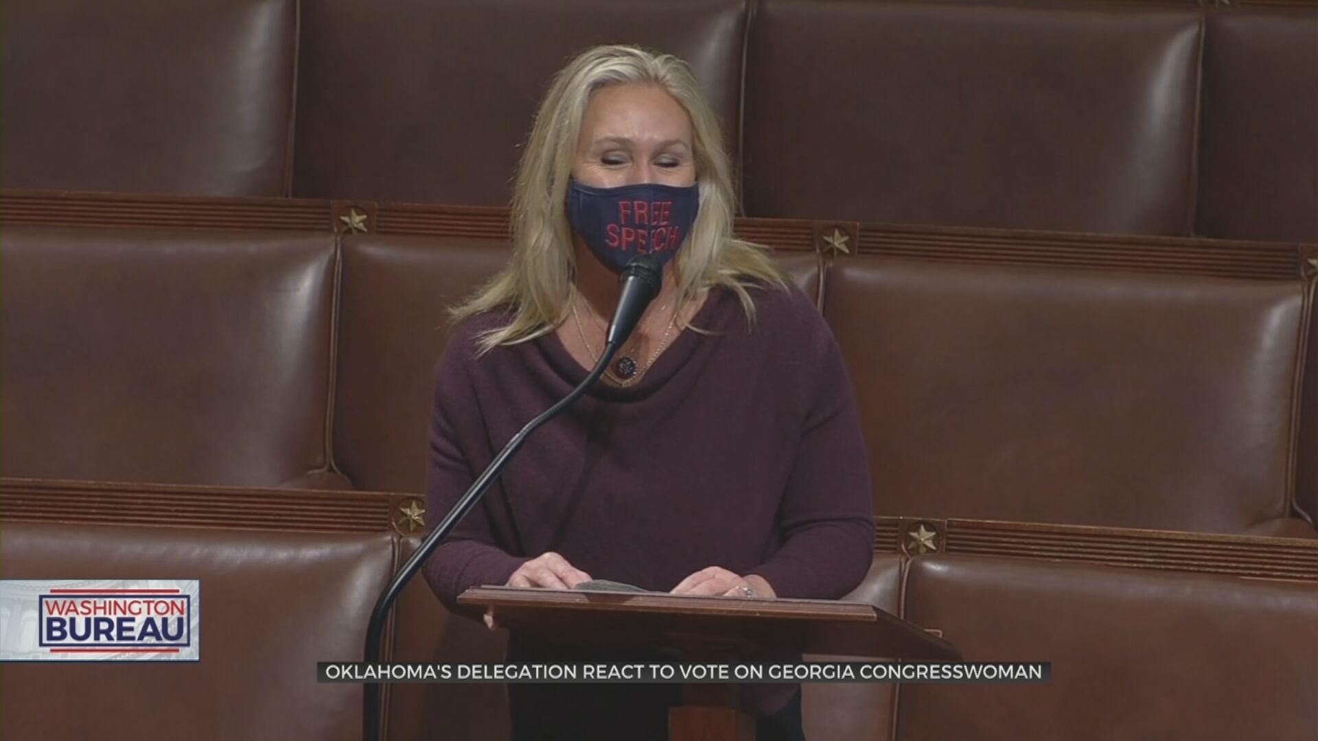 Oklahoma Delegation Speaks On Concerns Surrounding Georgia Congresswoman