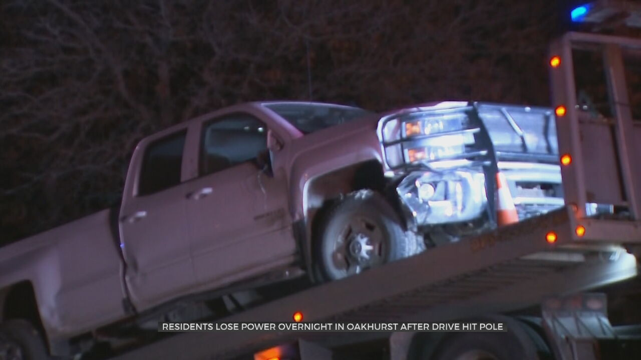 Police Say Crash Led To Overnight Power Outages; 1 Man In Custody
