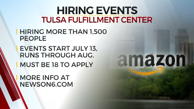 Amazon Plans To Hire Hundreds Of New Workers In Tulsa