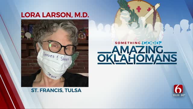 Amazing Oklahomans: Dr. Larson Delivers Babies For Moms Without Own OBGYN