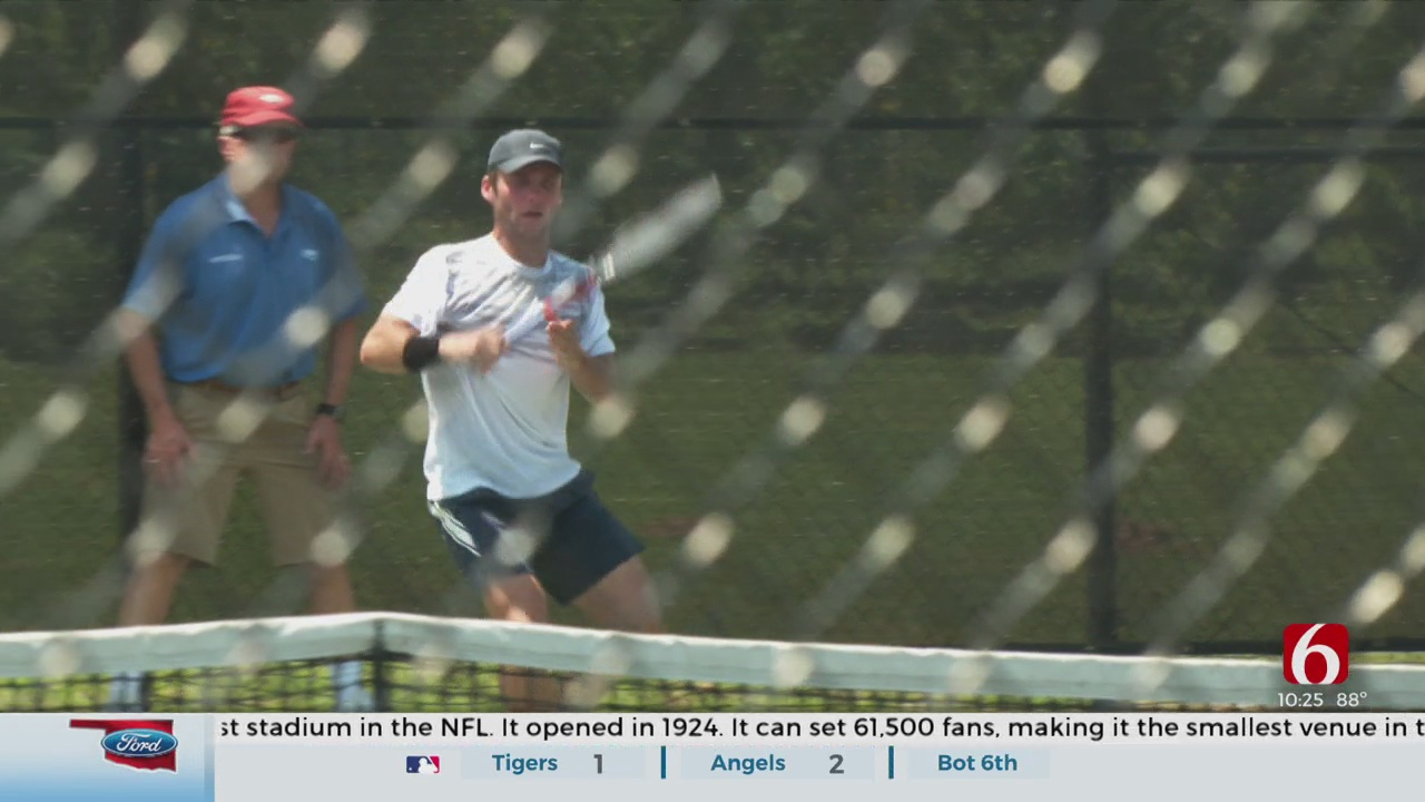 'Heart Is Everything': Playing Pro Tennis A Dream Come True For Tulsan Zeke Clark