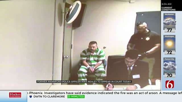 Attorney For Former Mannford Officer Accused Of Murder Says Video Shows Innocence